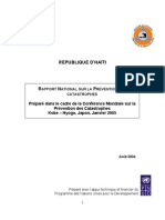 Haiti-Report-Gestion de Desastre 2005