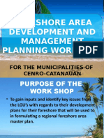 Foreshore Area Management