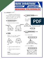 Áreas de Las Regiones Poligonales Para Tercero de Secundaria