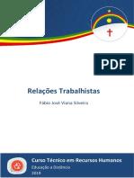 Caderno RH - Relações Trabalhistas [2019.1 ETEPAC 2.ed. reimp.]