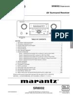 Marantz+SR-8002+Service+Manual