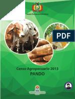 CENSO AGROPECUARIO BOLIVIA-PANDO