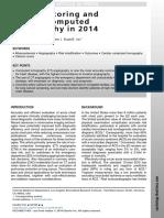 Calcium Scoring and Cardiac Ct in 2014