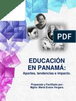 EDUCACIÓN EN PANAMÁ. APORTES, TENDENCIAS E IMPACTOS.pdf