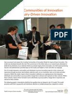 Creando comunidades de innovacion