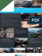 Brochure Hyundai New Santa Fe Fr