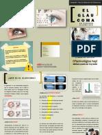 Triptico Glaucoma