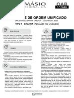 Simulado XXX Exame - Tipo 1 Damásio Nas Unidades - Caderno Definitivo (1)