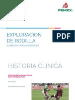 Exploracion de Rodilla r1