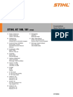 Stihl ht101 parts manual
