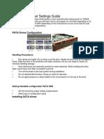 Hard Disk Jumper Settings Guide