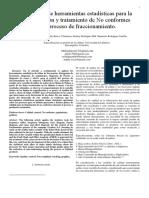 Art No 1. Trabajo Aplicación de Herramientas Estadísticas Para La Identificación y Tratamiento de No Conformes en El Proceso de Fraccionamiento (1)