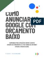 E-book Como Anunciar No Google Com Orcamento Baixo