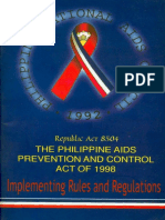 The Philippine Aids Prevention and Control Act of 1998