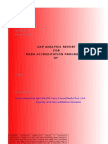 Gap Assessment Reporting Format