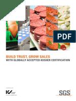 SGS AFL Kosher Certification A4 En