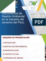 Instrumentos de Gestión Ambiental en la industria del cemento del Perú.