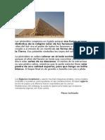 Las Pirámides Surgieron en Egipto
