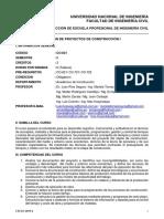 CO-821-Gestión de Proyectos de Construcción I_2019_2