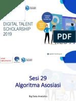 Big Data - Sesi 29 - Asosiasi
