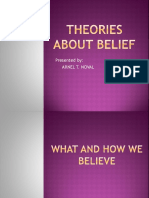 Theories About Belief