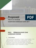 Proposal power poin Penataan Museum.pptx