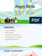 Case Study on Angry Birds