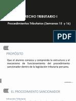 2018-7-5 Procedimientos Sancionador Tributario - Semanas 15 y 16.pptx