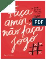Faça Amor Não Faça Jogo-Ique Carvalho