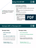 Types of Diagnostic Testing