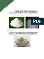 Materiales, Instrumentos, Procedimiento