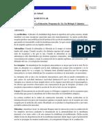 INFORME N°2. PREPARACION NEUROMUSCULAR
