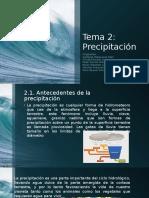 Tema 2. Precipitación.pptx