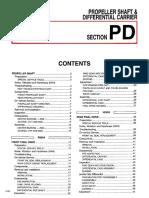 pd Mantenimiento de taller Diferencial Nissan Pathfinder