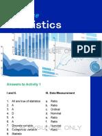 II Descriptive Statistics Topic 1