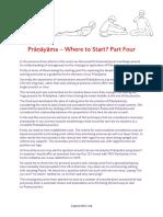 Pranayama Where to Start Part 4