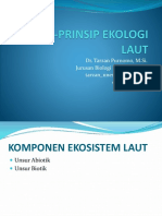 Prinsip-prinsip Ekologi Laut