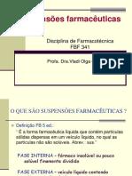 Suspensão farmacêutica