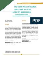 Sisitema de la protección social en colombia, cartilla
