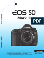 5D Mk3 Manuel Instruction EOS 5D Mark III