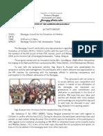 BCPC Activity Report