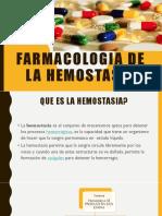 13. Farmacologia Hemostasia y Antianemicos