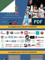 #Mydm Fair 2019 Full Agenda