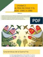Guerra Fría en Chile y El Mundo 2 Medio Of