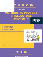Chapter 6 - Methods to Protect Intellectual Property