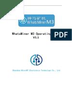 WhatsMiner M3 Operating Guide_V1.1