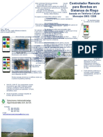 Automatización de bombas de agua