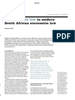 Succession Law in South Africa