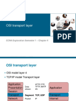 Mod4 - OSI Transport Layer
