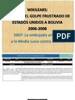 CIA en Bolivia 2007